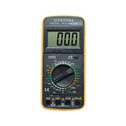 Мультиметр DT9208А фото